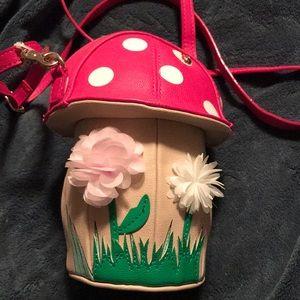 Betsey Johnson Mushroom Crossbody 🍄